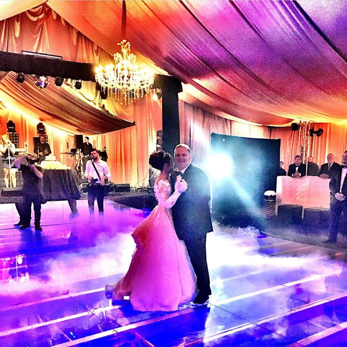 Father Daughter Dance Between Collins Tuohy And Her Dad