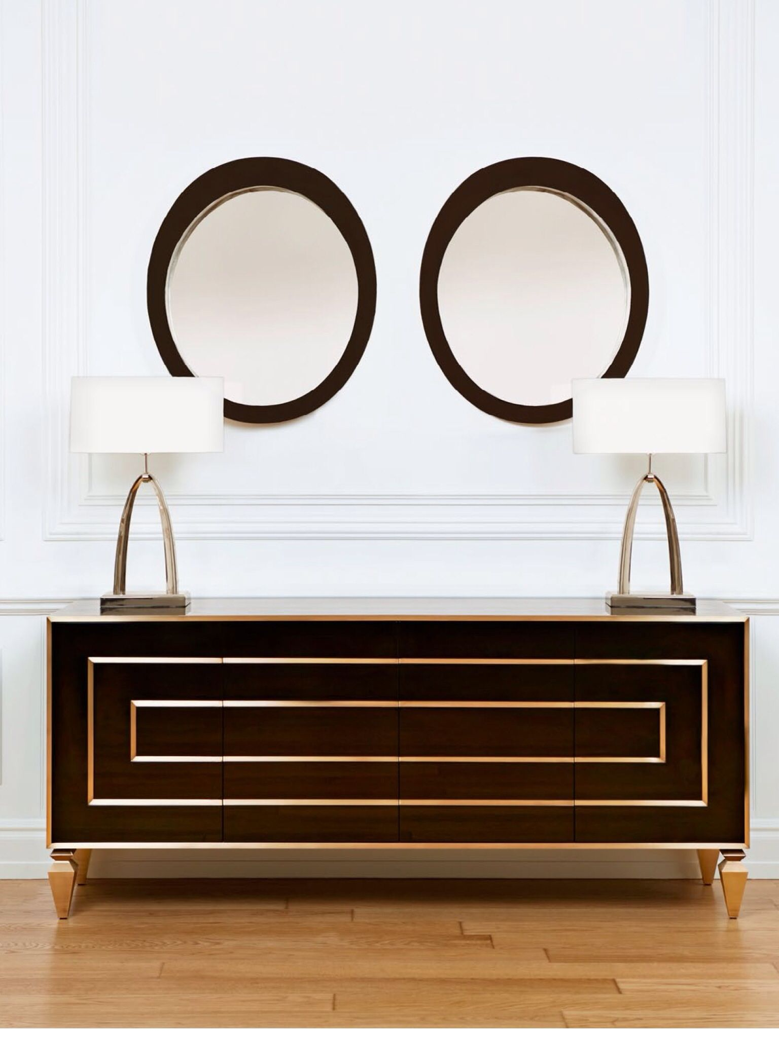 (lacquer Sideboard From The Trump Home By Dorya Collection Anchors A  Vignette At Doryau0027s Istanbul Showroom.