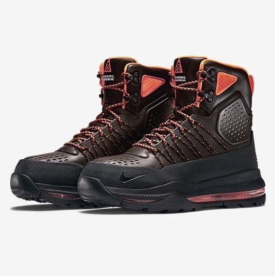 NIKE ZOOM SUPERDOME BOOTS 12 brown BLACK Duckboot lunar Air Force 1 Max 90  ACG