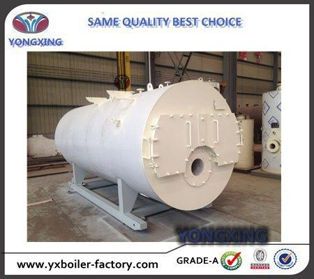 Best Sale Low Pressure 700kg/h Automatic Fire Tube Industrial Steam Oil Boiler for Sale