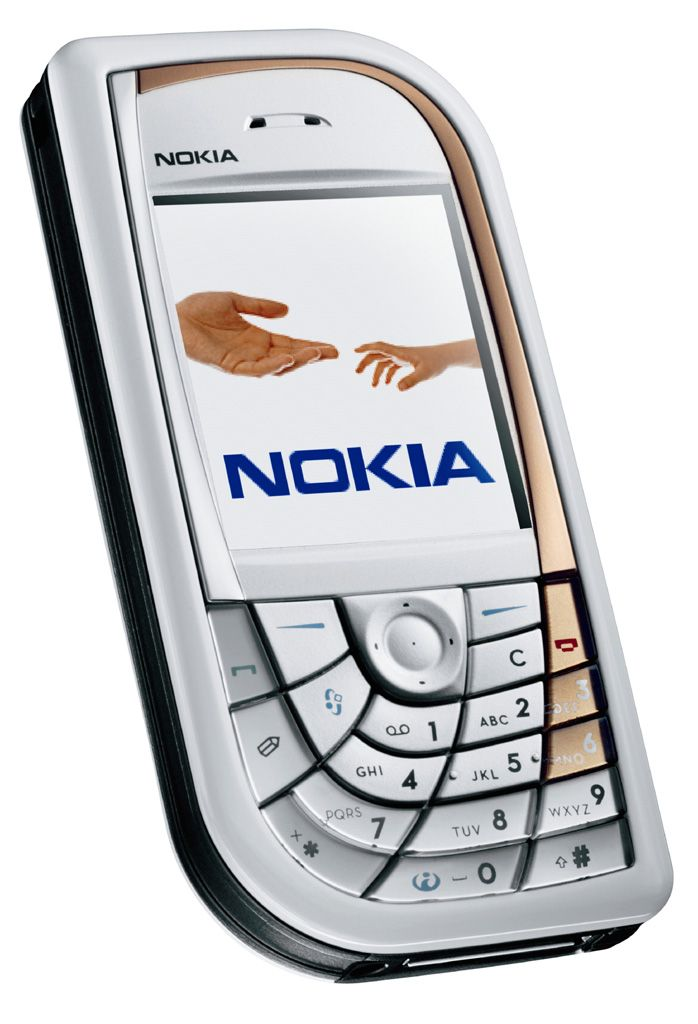 Nokia 7610 - first megapixel camera phone and the last 7 series