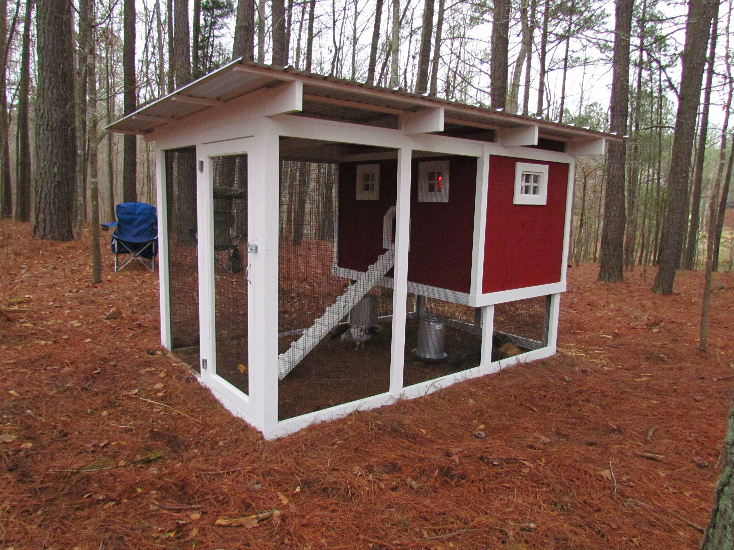 Carolina coops manor house chicken coop with a 4x6 hen for 4x6 chicken coop