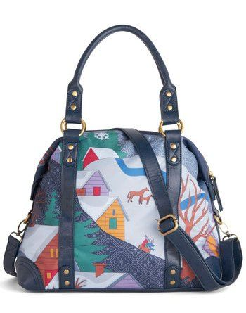 Fall is in the bag! Wonderland I Love Bag from Modcloth!