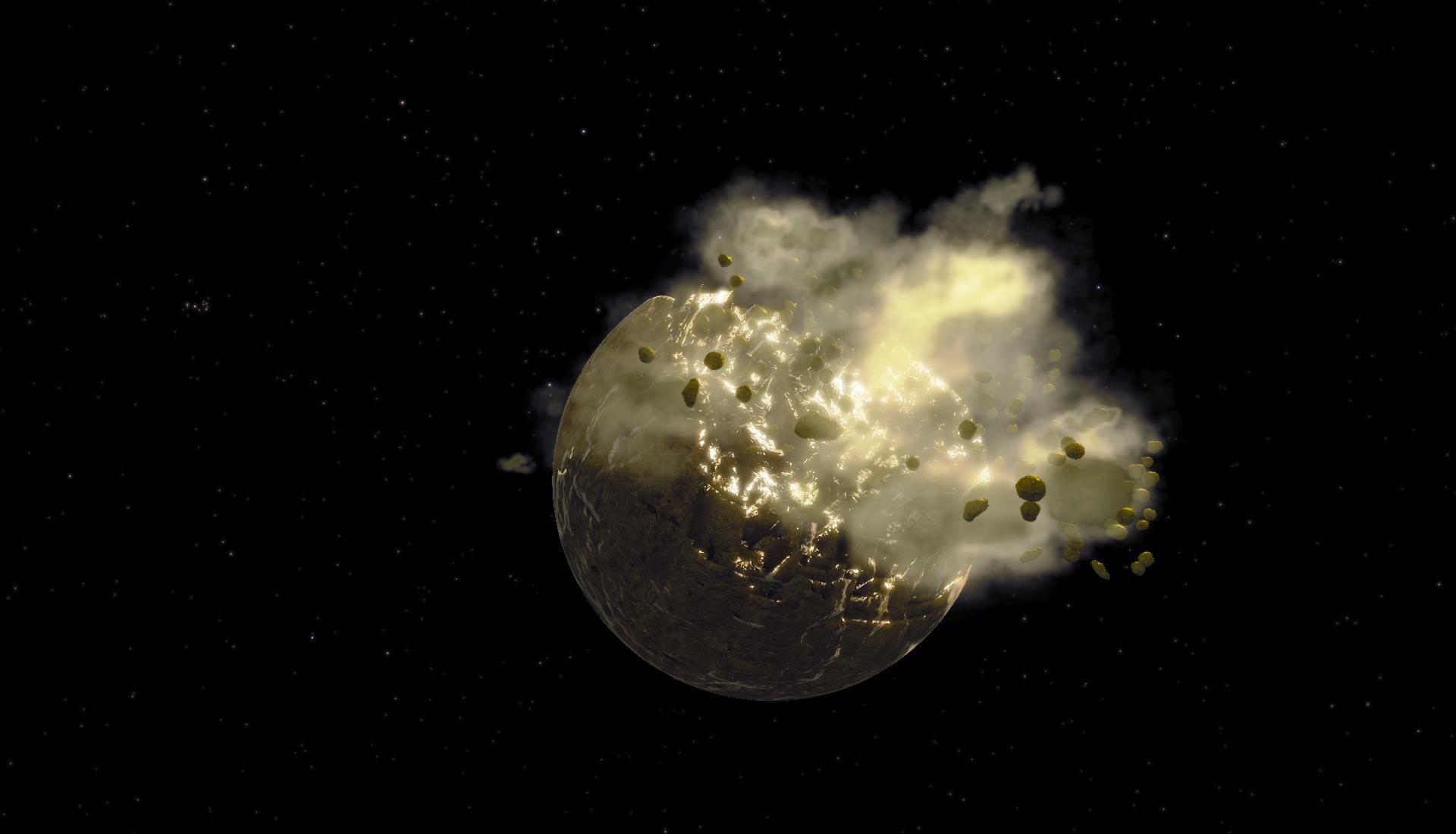 تفسير انفجار القمر في المنام موسوعة Moon Over The Moon Celestial