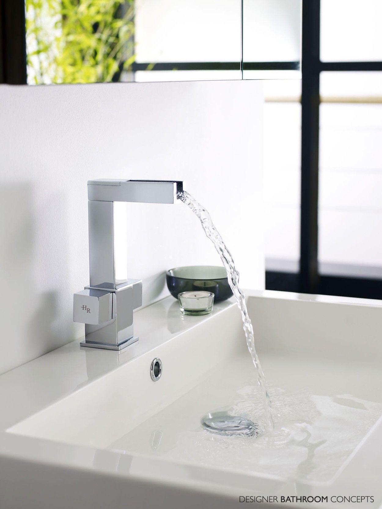 Kubix Designer Open Spout Mono Basin Mixer Tap   En Suite Project ...