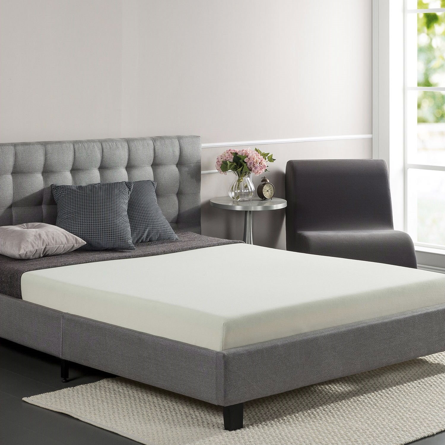 Full size 6inch Thick Memory Foam Mattress Medium Firm