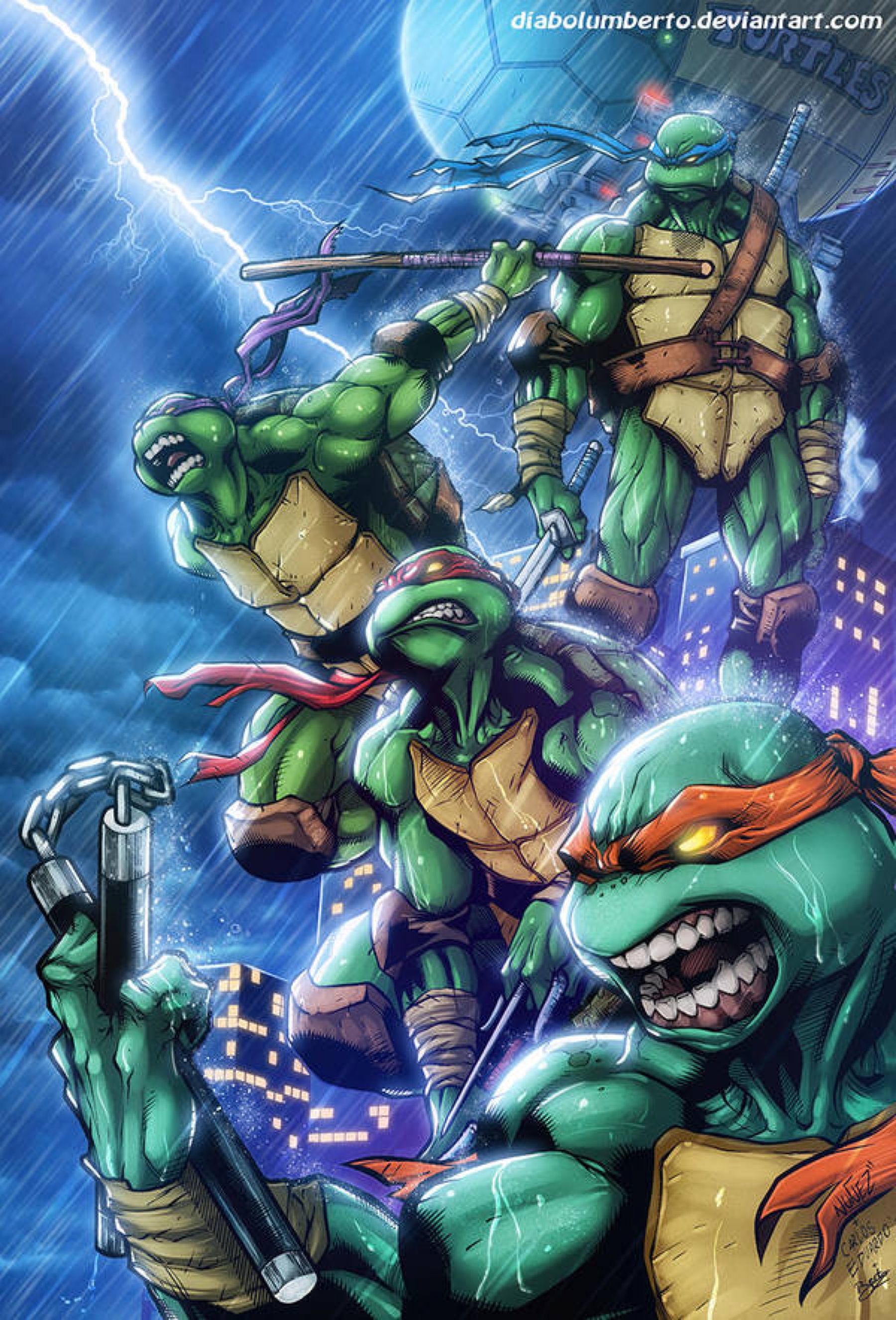 June 20 - Ninja Turtles by KileyBeecher on DeviantArt