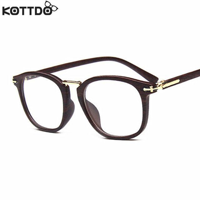KOTTDO New Retro Trend Flat Glasses Fashion Glasses Frame Man Woman ...