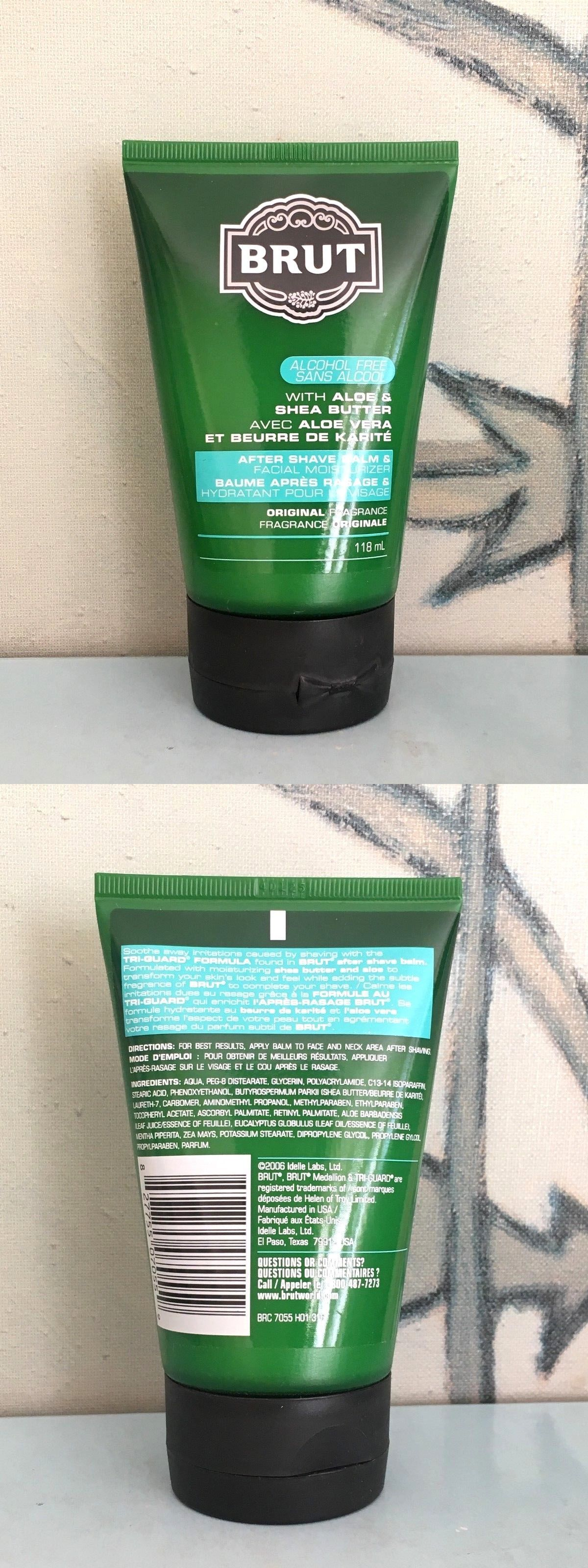 f931b32aa55 Aftershave and Pre-Shave 47920  Brut Aftershave Balm And Facial Moisturizer  Original Fragrance 118