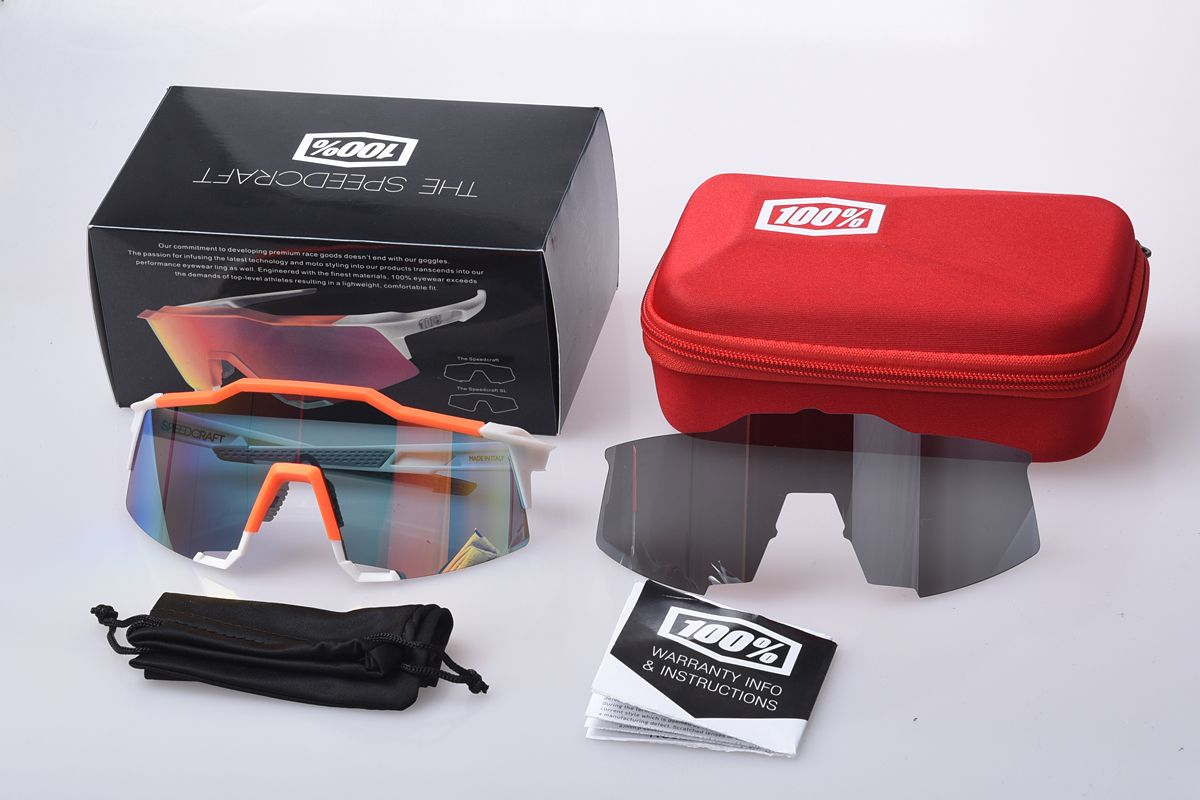 9322cd09874 100% SpeedCraft Outdoor Sports goggles Bicycle Sunglasses bicicleta Gafas  ciclismo UV400 lens Cycling Glasses Eyewear