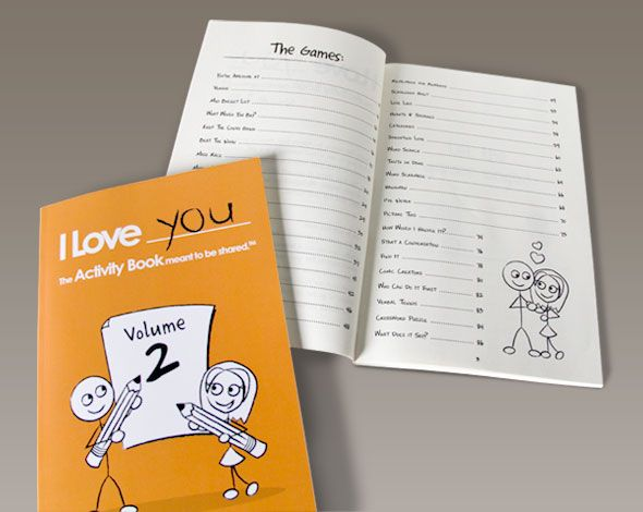 I Love You The Activity Book For Couples