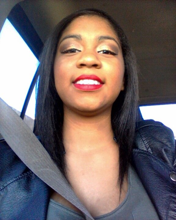 Vamp Red by Ruby Kisses is a long lasting, matte lipstick & doesn't come off easily!! It's only 99cents
