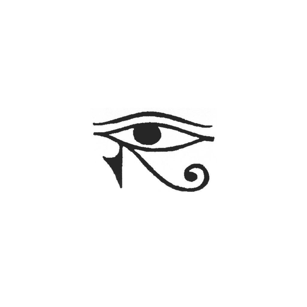 Eye Of Horus Left 1433b Egyptian Eye Tattoos Third Eye Tattoos Horus Tattoo