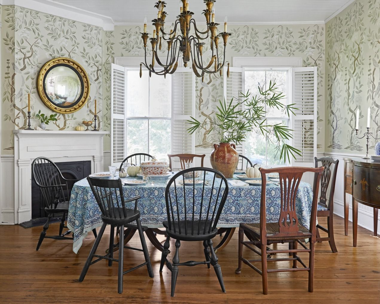 Fall Decorating Ideas To Turn Your Home Into A Seasonal Escape Dining Room Design Rustic Dining Room Dining Room Decor
