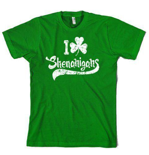 St Patricks Day Funny T-shirt Shenanigans Funny Shirt Saint Patricks day Tee