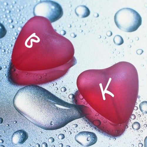 Alphabet Two Letter On Beautiful Love Hearts Profile ...