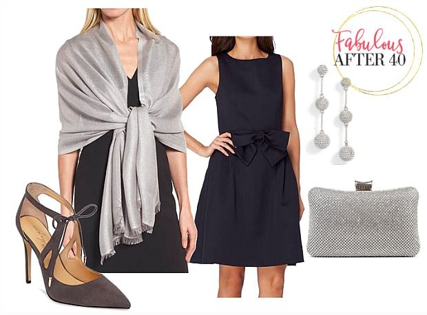 Chic Evening Wraps To Wear With Cocktail Dresses Navy Dress Outfits Navy Cocktail Dress Dress With Shawl