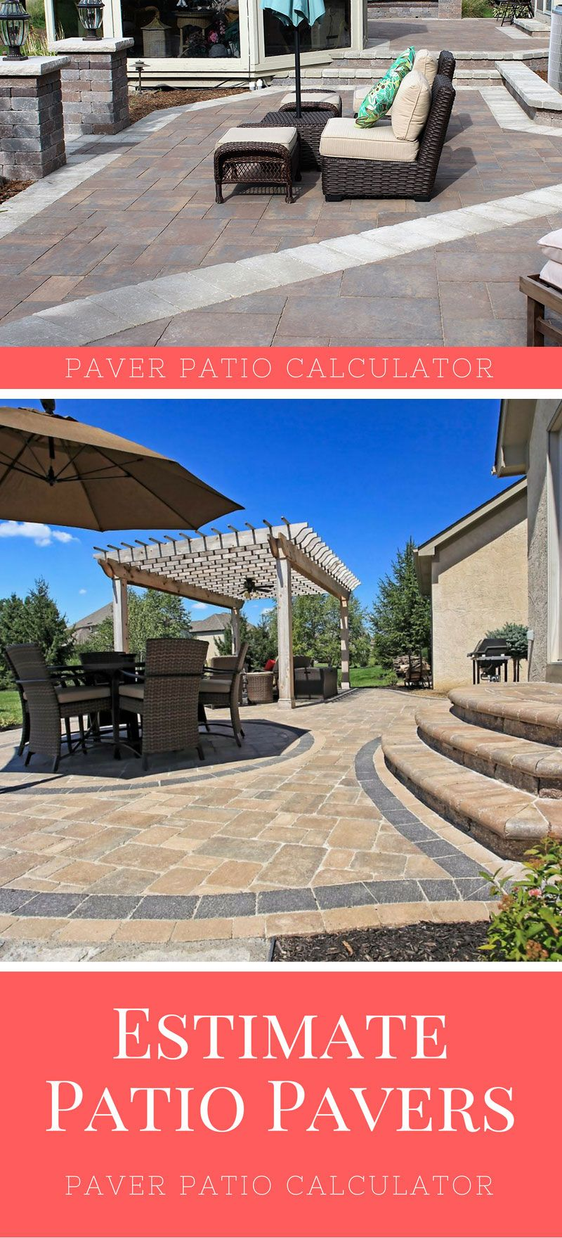 Calculate The Number Of Pavers Needed For A Patio Project And Estimate The  Price For Project
