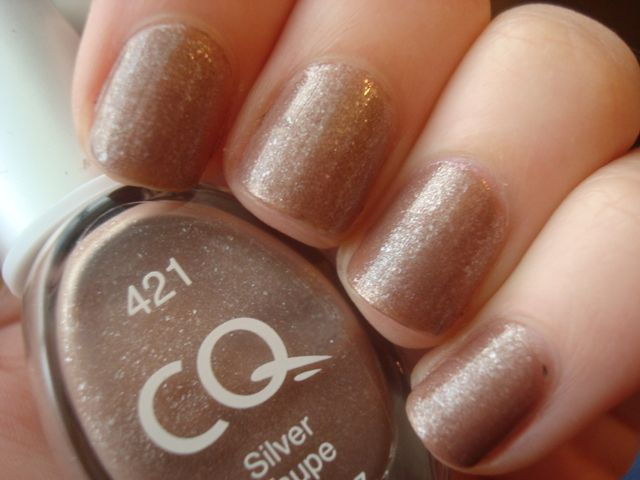 CQ Silver Taupe | Nail Polish I Own | Pinterest | Taupe, Brown nail ...