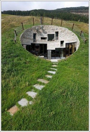 Strange House 17 Architecture Underground Homes Unusual