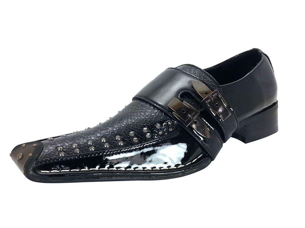 Mens Dress Shoes Slip On Loafers Black Goldenhorse fashion Shoes #Dressshoes #Men #Deal