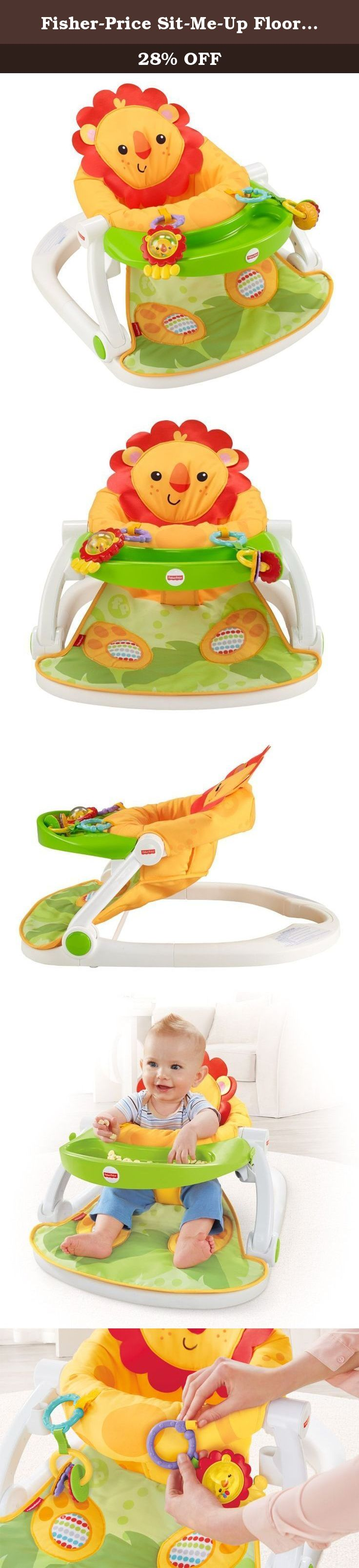 Fisher Price Sit Me Up Floor Seat with Tray fy portable seat