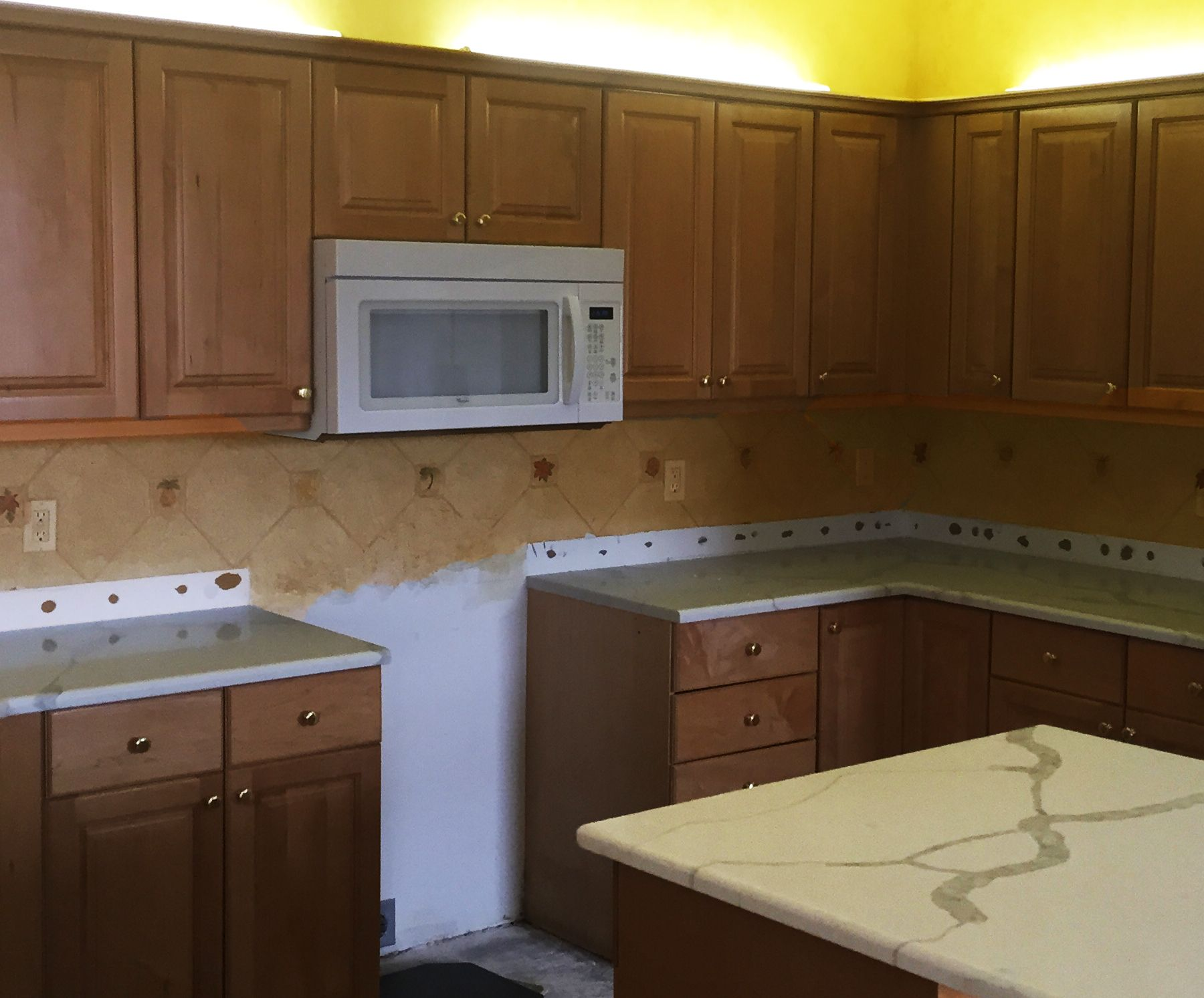 The Before For A Custom Kitchen Cabinet Restyle Custom Kitchen Cabinets Kitchen Cabinets Estate Liquidation