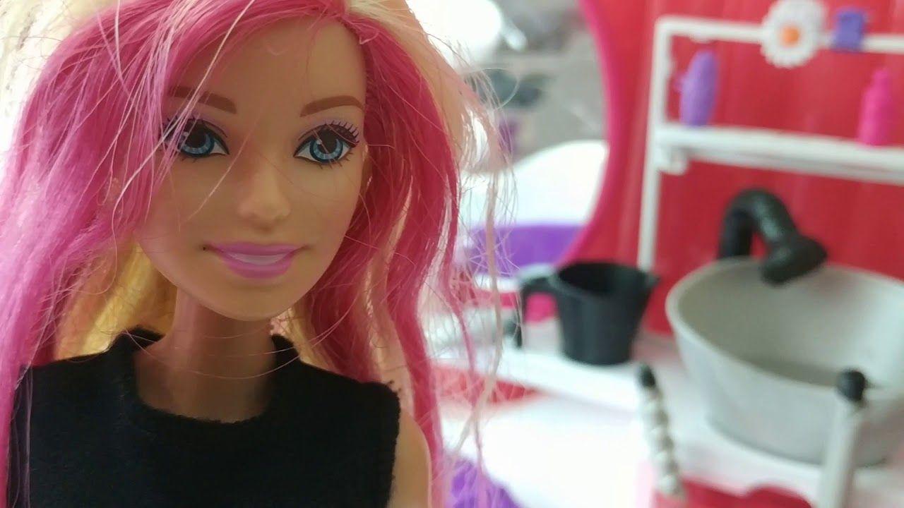 Barbie Lerin Kuafor Macerasi Sac Stilleri Kuaforler Barbie