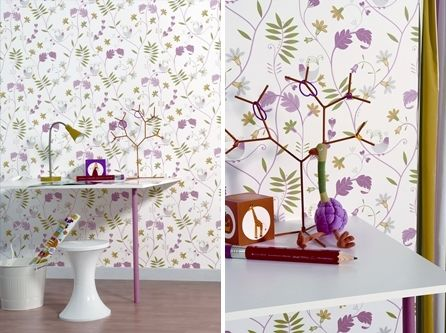 Nuevas ideas para decorar con papel pintado walls - Papeles para decorar ...