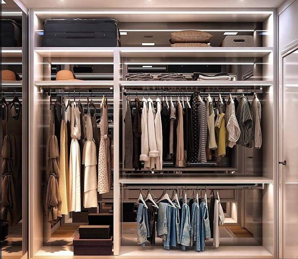 تصميم دولاب الملابس والاكسسوارات في إسطنبول Home Decor Decor Home
