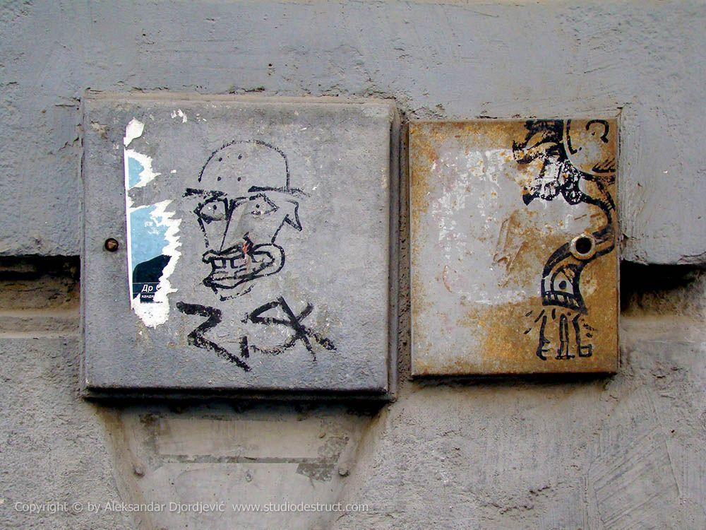 EDB / RiSK #BeogradskiGrafiti #StreetArt #Graffiti #Beograd #Belgrade #Grafiti