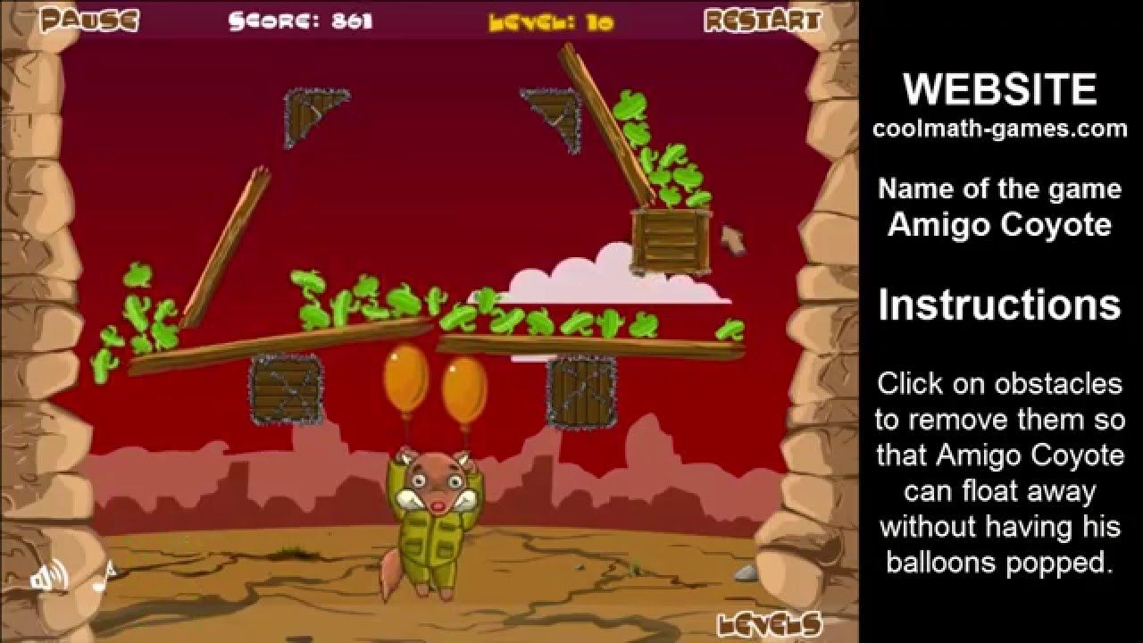 amigo coyote - cool math games   online games free play now   games ...