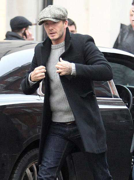 herringbone cap david beckham - Google Search  41c4848a82f3