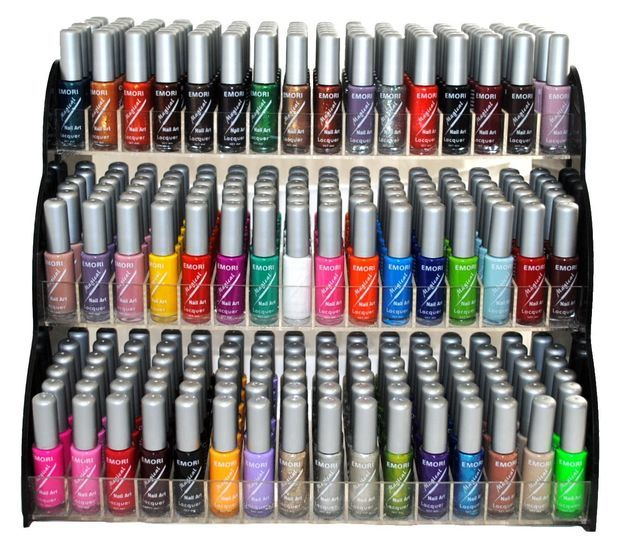 Emori (TM) All About Nail 50 Piece Color Nail Lacquer (Nail Art ...