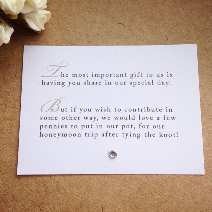 Image Result For Proper Wording For Wedding Money Request