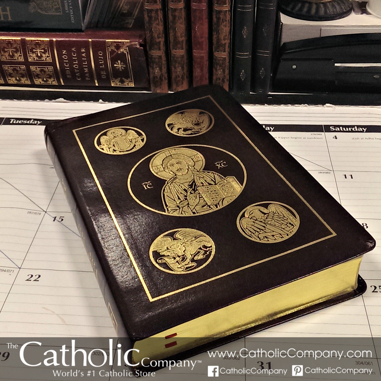 The Ignatius Bible - RSV 2nd Edition (Leather) | The