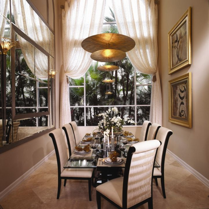 Dining room by Brown's Interior Design | interior design, home decor, dining room. More ideas at http://www.bocadolobo.com/en/products/dining-tables.php