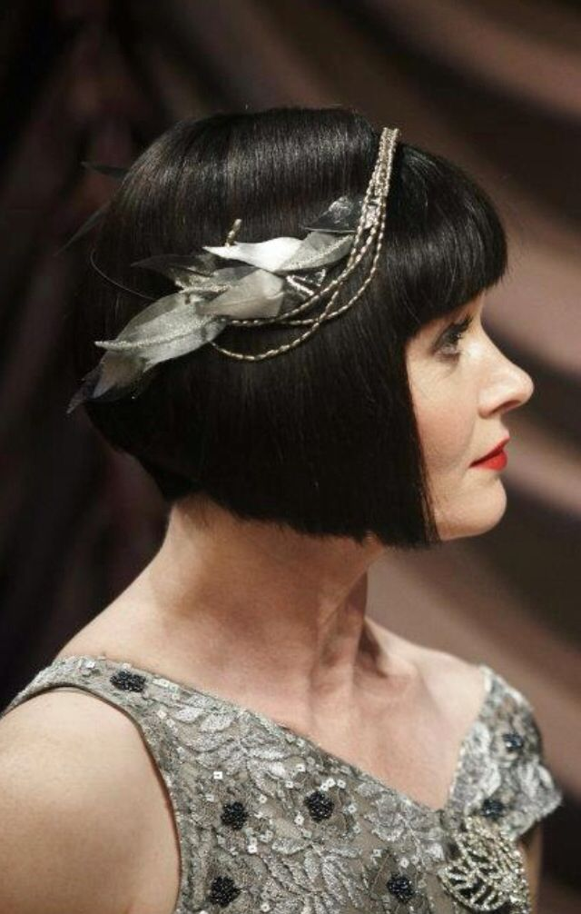 miss fisher haircut look festive in 20 s flapper fashion in 2019 vintage