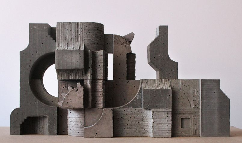 Concrete Architectural Sculptures by David Umemoto | Inspiration Grid | Design…