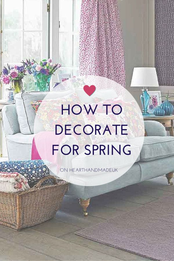 how to decorate for spring, inspired by Ashley Thomas - click through for article
