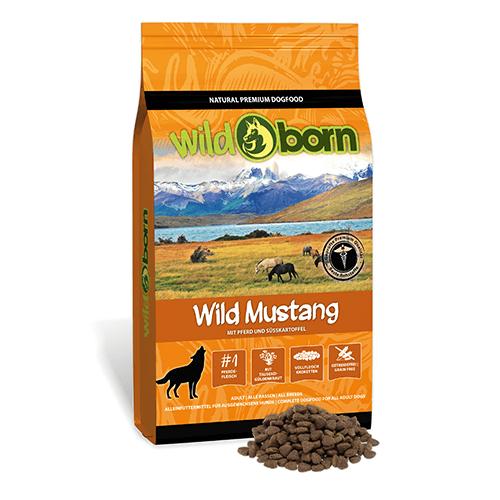 Hundefutter Getreidefrei Mit Pferdefleisch 12 5kg Trockenfutter Wildborn Wild Mustang Hundefutter Hunde Futter Pferdefleisch