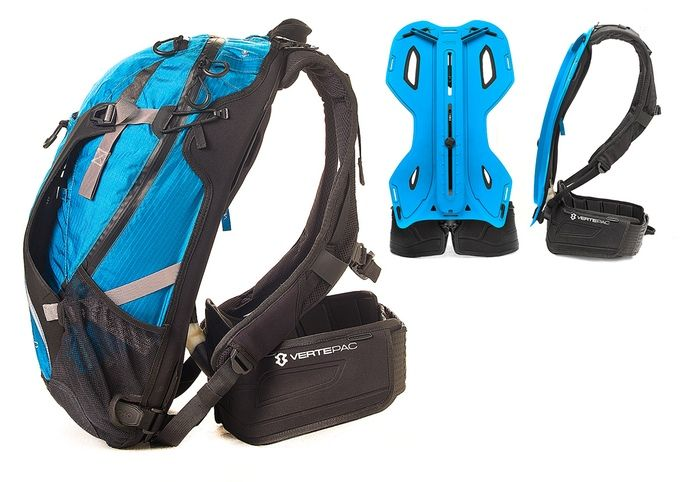 Revolutionary daypack that mimics the mechanics of your body. To accomplish your ultimate performance!