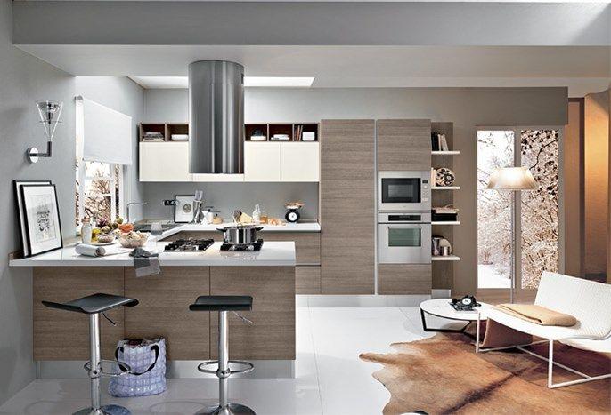 Cucina cu02 0003 cucina componibile moderna composizione - Arredamento casa moderna ...
