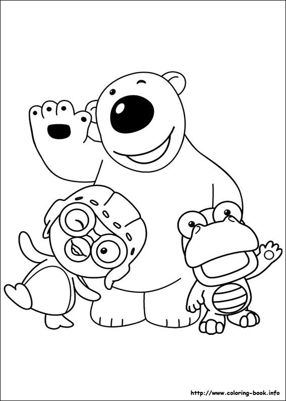 Pororo Coloring Picture B Party Pinterest Coloring Pages