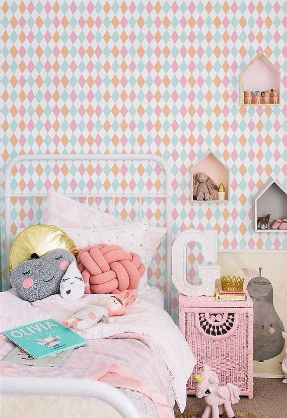 papier peint vinyle auto adh sif sticker mural diamond impression motif p che 019 cupcake. Black Bedroom Furniture Sets. Home Design Ideas