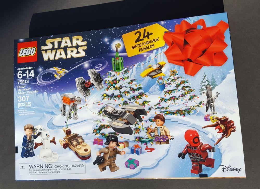 LEGO 75213 Star Wars Advent Calendar 2018 New Sealed Christmas Lego Bouwspellen