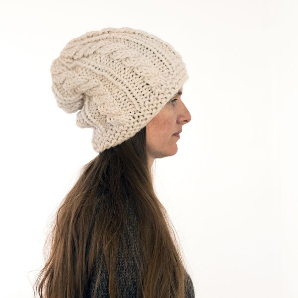 Cable Hat Knitting Pattern | Hats - Knitting and Crochet Patterns ...