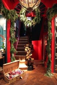 The Holiday Workshop ... a collaboration between longtime friends Celerie Kemble and Bronson van Wyck.