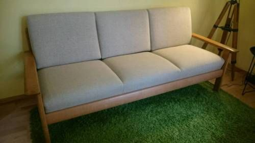 Dänisches Design Mid Century Sofa Eiche 50er 60er In Münster