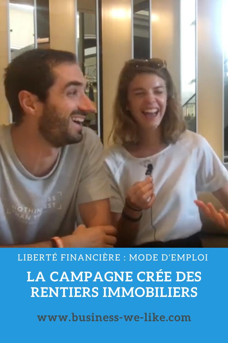 Ils Sont Dans Les Campagnes : campagnes, Campagne, Crée, Rentiers, Immobiliers, Campagne,, Immobilier,, Jeunes, Couples